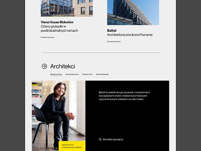 Garvest premium real estate web uidesign webdesign minimalistic
