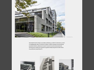 Garvest - property layout real estate architecture typography web uidesign webdesign minimalistic