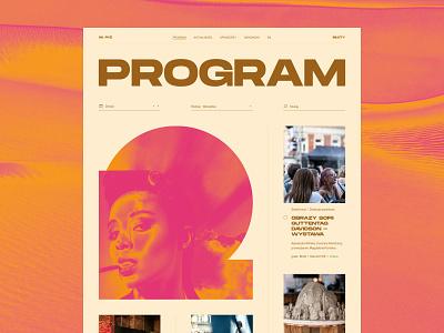 30. Jewish Festival design typography web uidesign webdesign
