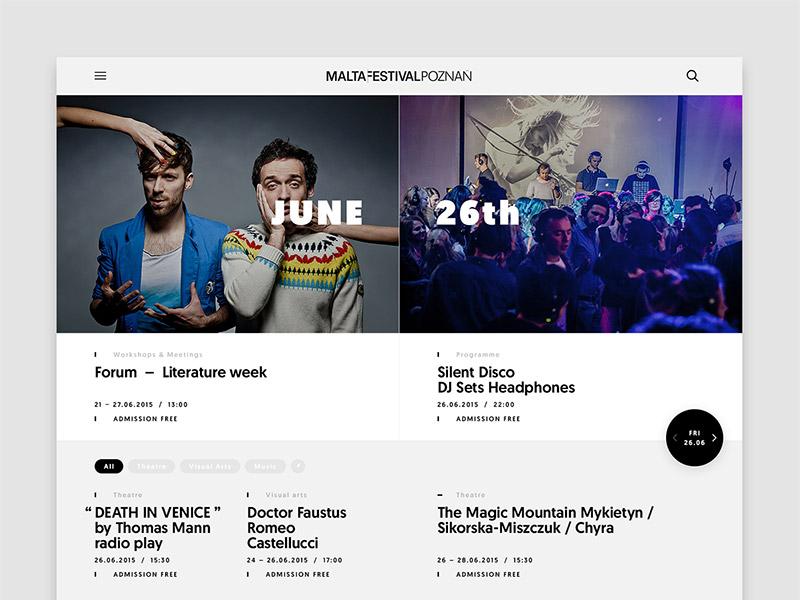 Malta design web