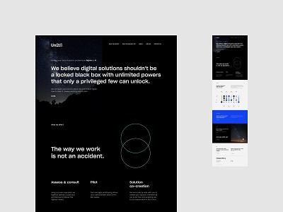 Unit 8 - Homepage web uidesign minimalistic webdesign