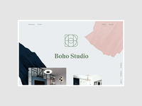 Boho Studio - Homeage