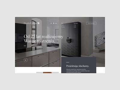 Studio Forma 96 interior design animation branding web uidesign minimalistic webdesign