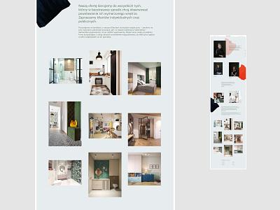 Boho studio - About us interior design portfolio premium web branding uidesign minimalistic webdesign