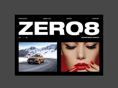 Agency Portfolio agency branding agency website agency portfolio web minimalistic webdesign uidesign branding web design typography