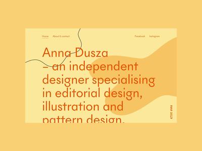 Anna Dusza - Portfolio