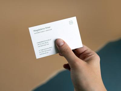 Boho Studio - business cards brand identity branding design brand paper business card premium typography branding minimalistic webdesign