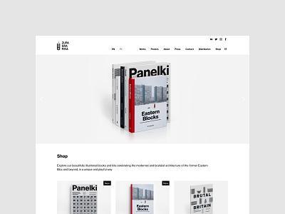 New Zupagrafika - homepage brutalism architecture modernism typography portfolio web uidesign minimalistic webdesign