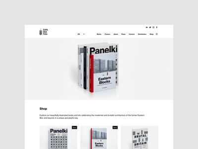 New Zupagrafika - homepage