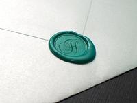 Logo swirl stamp