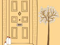 Estate agents illustration