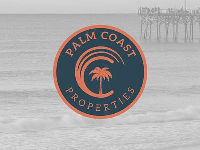 Palm Coast realestate logodesign branding
