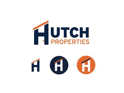 Hutch minimal simplistic realestate logo reibranding branding realestatelogo realestate