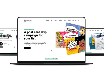 BPM - Clean Web Design whitespace minimal webdesign ux ui design