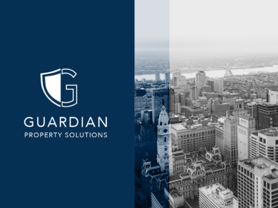 Shield Branding minimal shield real estate branding