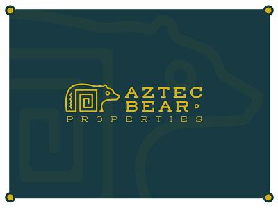 Aztec Bear Branding logodesign minimal logo design branding brand