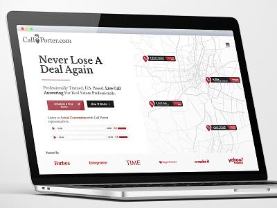Call Center UI/UX Design realestate ecommerce wordpress minimaldesign webdevelopment branding webdesign ux ui
