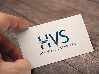 Hill Vision Services Branding logo design branding