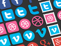 Super Sexy Social Icons (Preview)