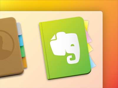 Evernote Yosemite Icon yosemite evernote icon app logo dock osx ios8 apple mac free download