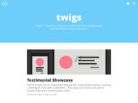 Twigs Website