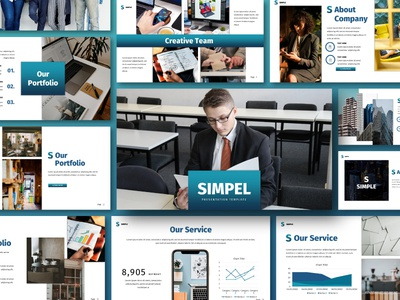 Simple Business Presentations Template