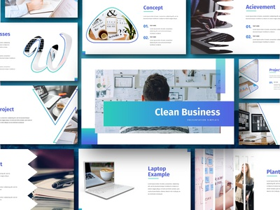 Clean - Business Presentation Template