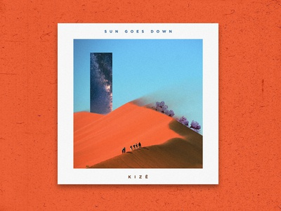 "Cover Artwork for ""Sun Goes Down"""