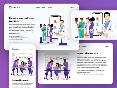 Custom Illustration for Spectrum app web web illustration graphic design design illustration art vector illustrator illustration