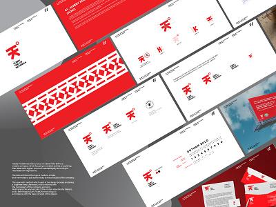 HOKI | Brand Guide and Visual Identity modern logo brand guide branding and identity visual identity logo design logo branding design