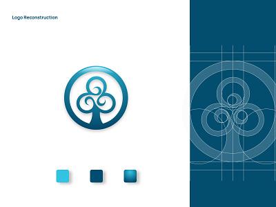 Lenus Media - Logo Reconstruction brand guide minimalist logo icon branding and identity visual identity modern logo logo design logo branding design