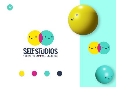 Self Studios Logo Design 3d modelling visual identity branding and identity 3d minimalist logo modern logo logo design logo branding design