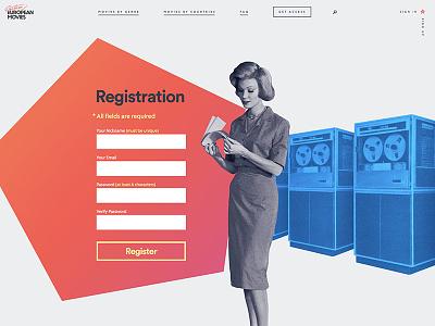 Registration Form server woman register registration form