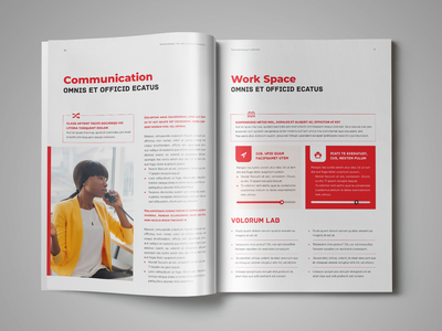 Telecommuting Guidelines Template indesign template employee handbook guidelines