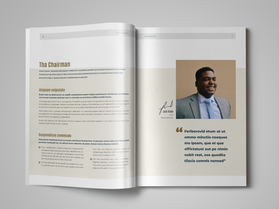 HR / Employee Handbook Template indesign template handbook template employee engagement layout employee handbook