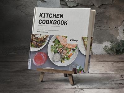 Square Cookbook / Recipe Book cookbook indesign template