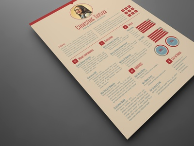 Business Resume Template indesign template adobe indesign resume design resume template resume cv resume