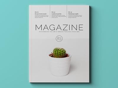 Multipurpose Magazine Template indesign template magazine design magazine cover magazine