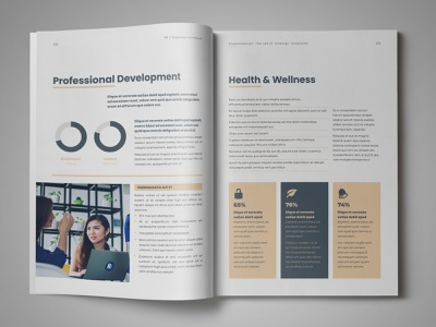 HR / Employee Handbook Template indesign templates employee handbook template