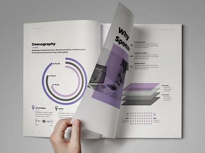 Sponsorship Proposal Template brochure layout brochure template indesign template