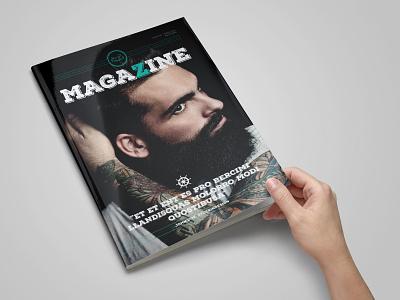 Rustic Magazine Template magazine adobe indesign indesign indesign template magazine layout magazine design magazine cover