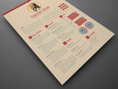 Business Resume Template resume design indesign template adobe indesign resume template resume cv