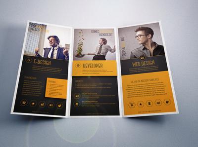 Trifold Corporate Brochure Template