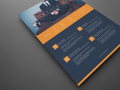 Corporate Flyer Template: Modern Business corporate design indesign template flyer template flyer design