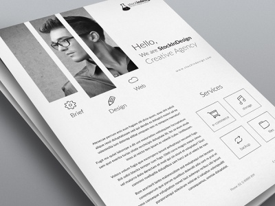 Corporate Flyer Template indesign template flyer templates flyer template
