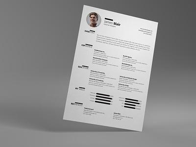 Resume Template indesign resume template indesign template resume clean resume design resume template