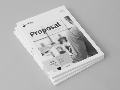 Proposal Template indesign indesign template proposal template proposal design