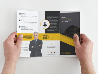 FREE Trifold Brochure free indesign template indesign template trifold template trifold brochure
