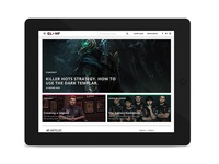 GLHF Responsive Redesign