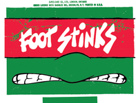 Foot Stinks Face